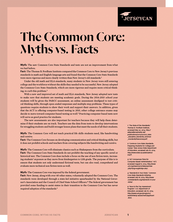 "critical thinking common core ""common core standards do not represent a meaningful improvement over existing state standards"" (porter, 24) – higher than some states, lower than others = right in the middle focuses more on the higher-order thinking skill than emphasizing the basics from which this thinking pattern grows."
